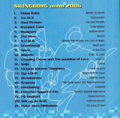 Swingborg – Diverse kunstnere
