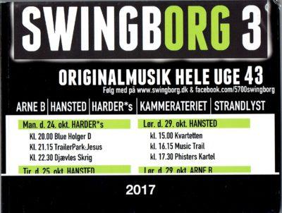 Swingborg 3 – Diverse kunstnere (Video/bog)